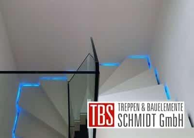 Glasgelaender Faltwerktreppe Schwedelbach