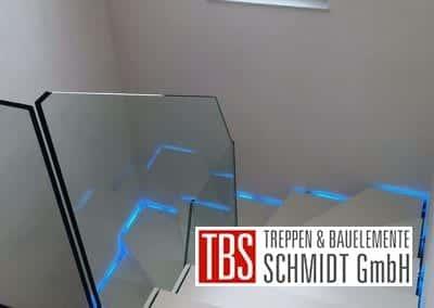 Treppenbeleuchtung Faltwerktreppe Schwedelbach