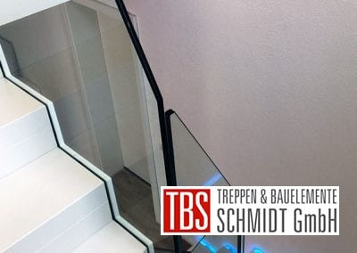 Stufenverblendung Faltwerktreppe Schwedelbach