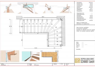 Technische-Skizze-Treppe-viertelgewendelt