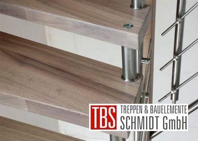 Stufen Bolzentreppe Bechhofen der Firma TBS Schmidt GmbH