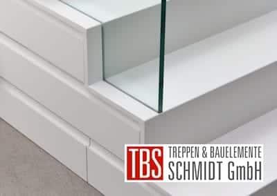 Unterschrank Kragarmtreppe Kaiserslautern der Firma TBS Schmidt GmbH
