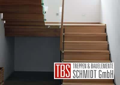 Treppenverlauf der Faltwerktreppe Adelberg der Firma TBS Schmidt GmbH