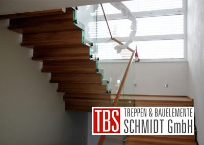 Podest der Faltwerktreppe Adelberg der Firma TBS Schmidt GmbH