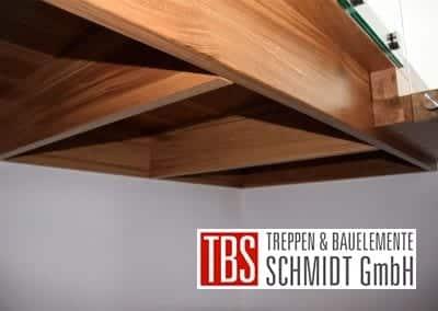 Unterkonstruktion der Faltwerktreppe Adelberg der Firma TBS Schmidt GmbH
