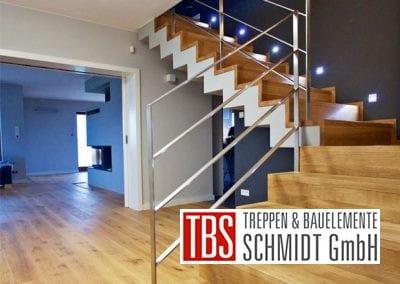 Die Wandbeleuchtung der Faltwerktreppe Freiburg der Firma TBS Schmidt GmbH