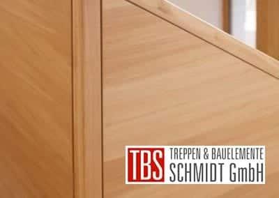 Das Treppengelaender der Faltwerktreppe Hannover der Firma TBS Schmidt GmbH