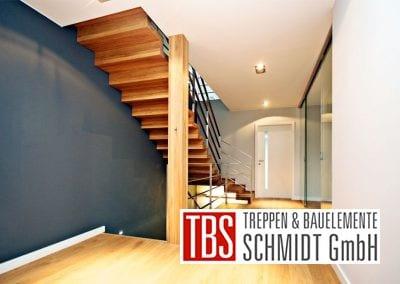 Rueckansicht der Faltwerktreppe Karlsruhe der Firma TBS Schmidt GmbH