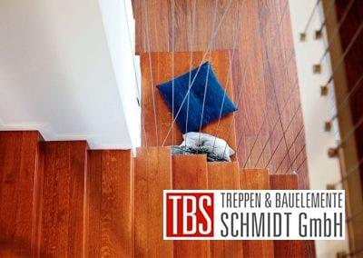 Die Treppenstufen der Faltwerktreppe Leipzig der Firma TBS Schmidt GmbH