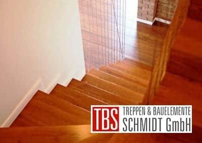 Die halbgewendelte Faltwerktreppe Leipzig der Firma TBS Schmidt GmbH