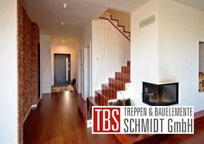 Raumansicht der Faltwerktreppe Leipzig der Firma TBS Schmidt GmbH
