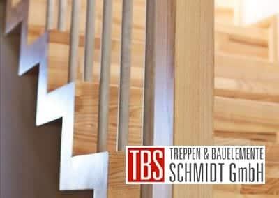 Die Treppenstufen der Faltwerktreppe Willich der Firma TBS Schmidt GmbH