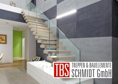 Kragarmtreppe Kaiserslautern der Firma TBS Schmidt GmbH