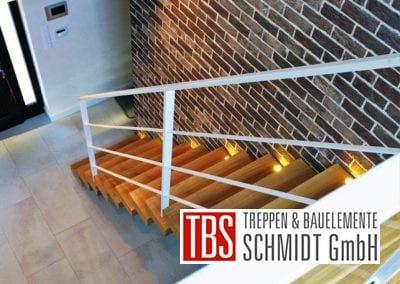 Blick von der Galerie auf die Kragarmtreppe Sachsen der Firma TBS Schmidt GmbH
