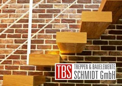 Treppenstufen der Kragarmtreppe Sachsen der Firma TBS Schmidt GmbH