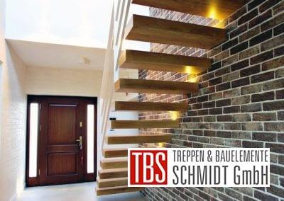 Rueckansicht der Kragarmtreppe Sachsen der Firma TBS Schmidt GmbH
