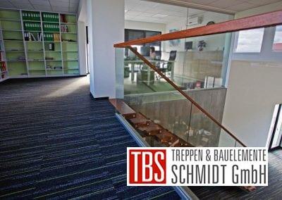 Das Galeriegelaender der Kragarmtreppe Baden Wuerttemberg der Firma TBS Schmidt GmbH