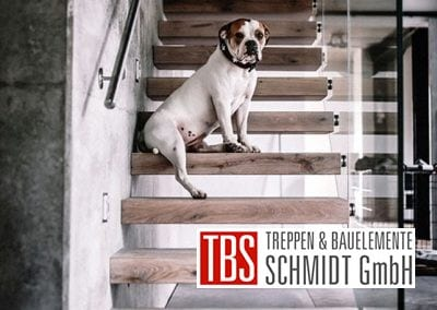 Kragarmtreppe Kirkel der Firma TBS Schmidt GmbH