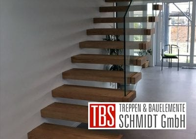 Kragarmtreppe Saulheim der Firma TBS Schmidt GmbH