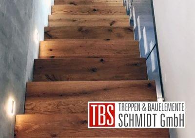 Ansicht auf die Kragarmtreppe Gersheim der Firma TBS Schmidt GmbH