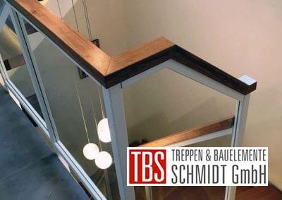 Treppengelaender der Mittelholmtreppe Geisenheim der Firma TBS Schmidt GmbH