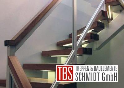 Treppenstufen der Mittelholmtreppe Geisenheim der Firma TBS Schmidt GmbH