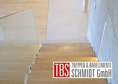 Die Treppenstufen der Mittelholmtreppe Karlsruhe der Firma TBS Schmidt GmbH