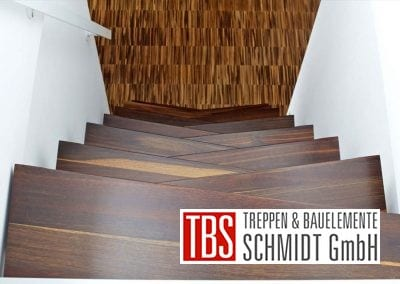 Ansicht auf die Raumspartreppe Freiburg der Firma TBS Schmidt GmbH