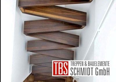 Treppenstufen der Raumspartreppe Freiburg der Firma TBS Schmidt GmbH