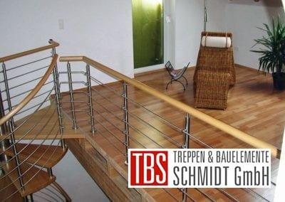 Galerie Spindeltreppe Landstuhl der Firma TBS Schmidt GmbH