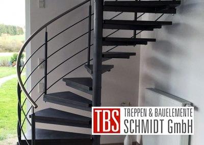 Spindeltreppe Schiffweiler der Firma TBS Schmidt GmbH