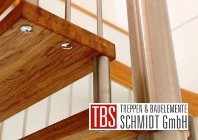 Die Edelstahlbolzen der Spindeltreppe Trier der Firma TBS Schmidt GmbH