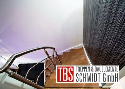 Edelstahlgelaender der Wangen-Bolzentreppe Aschaffenburg der Firma TBS Schmidt GmbH