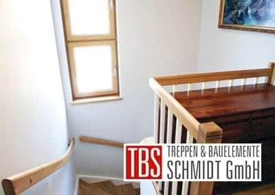 Bruestungsgelaender Color-Wangentreppe Fulda der Firma TBS Schmidt GmbH