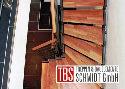 Treppenstufen der Zweiholmtreppe Erftstadt der Firma TBS Schmidt GmbH