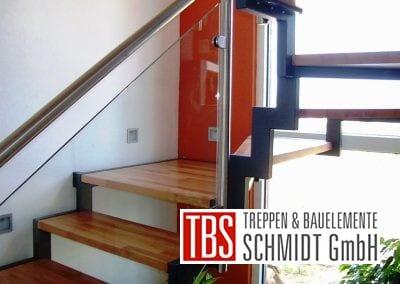 Treppenstufen der Zweiholmtreppe Wittlich der Firma TBS Schmidt GmbH