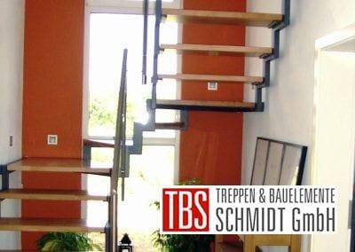 Treppengelaender der Zweiholmtreppe Wittlich der Firma TBS Schmidt GmbH