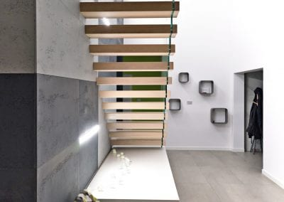 Rueckansicht Kragarmtreppe Treppe des Jahres der Firma TBS Schmidt GmbH