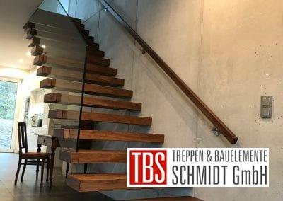 Die gerade Kragarmtreppe Malsch der Firma TBS Schmidt GmbH