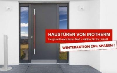 Unsere INOTHERM Winteraktion – 20% auf alle Haustüren