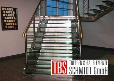 Glastreppe Augsburg der Firma TBS Schmidt GmbH