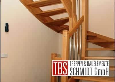 Halbgewendelte Wangentreppe Emden der Firma TBS Schmidt GmbH