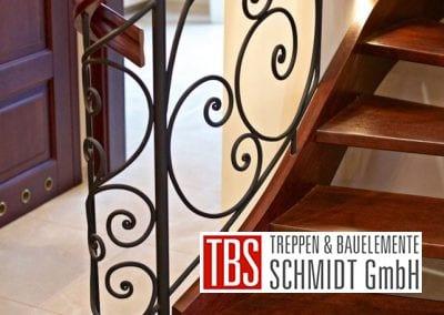 Stahlmuster Wangentreppe Karlsruhe der Firma TBS Schmidt GmbH