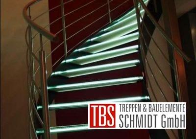 Glastreppe Leipzig der Firma TBS Schmidt GmbH