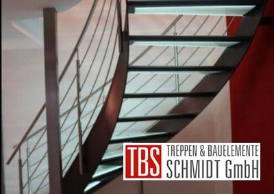 Rueckansicht der Glastreppe Leipzig der Firma TBS Schmidt GmbH