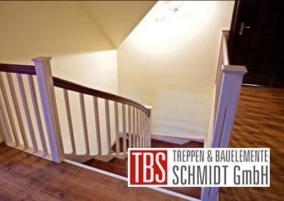 Bruestungsgelaender Color-Wangentreppe Mannheim der Firma TBS Schmidt GmbH