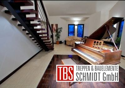 Rueckansicht der Mittelholmtreppe Bochum der Firma TBS Schmidt GmbH