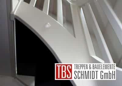 Treppenwangen der Color-Wangentreppe Jena der Firma TBS Schmidt GmbH