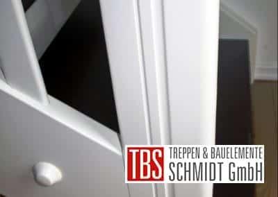 Eintrittsstufe der Color-Wangentreppe Jena der Firma TBS Schmidt GmbH