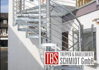 Außentreppe der Firma TBS Schmidt GmbH